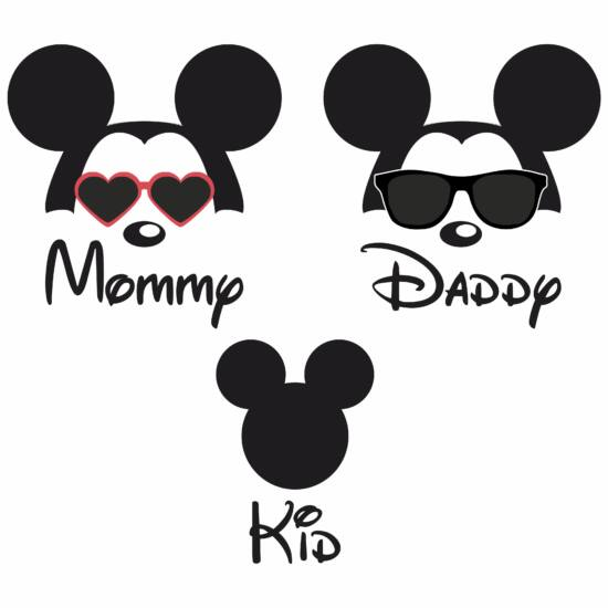 Mommy - Daddy - Kid